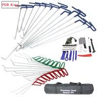 PDR Королевский инструмент для удаления вмятин крючки толкатель Ремонтный комплект вмятин удаление автомобиля Инструменты для ремонта авто