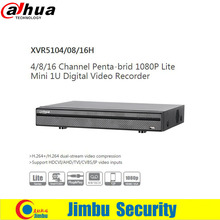 Dahua XVR video recorder  XVR5108H 8ch 1080P 1U  Support HDCVI/ AHD/TVI/CVBS/IP video inputs 1 SATA HDD UP TO 6TB