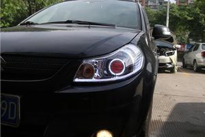 Image 2 - 2007 ~ 2012y רכב bumer ראש אור לסוזוקי SX4 פנס אביזרי רכב LED DRL HID קסנון ערפל לסוזוקי SX4 פנס