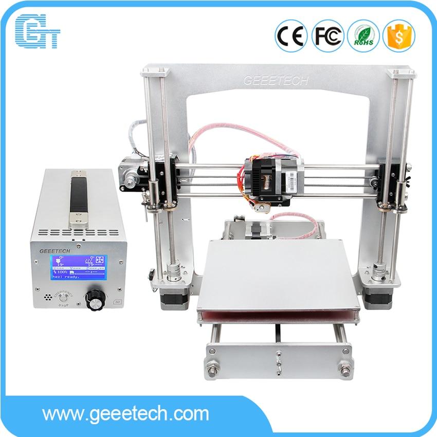 2016 Latest Geeetech i3 A Pro 3D Printer Full Aluminum Frame High Precision Reprap Prusa DIY