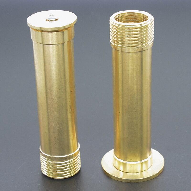 "4/"" Gold High Pressure Hose Spray Gun Brass Head Garden Water Nozzle New cvb 3/"""