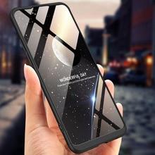360 Degree Full Protection Hard Case For OPPO Realme C1 Back Cover shockproof case + glass Film RealmeC1