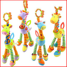 LOL The baby's furry giraffe Handbells is selling hot baby toys. toys for children(China)