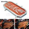 New Motorcycle Accessaries Motorbike Radiator Grill Guard Cover Protector Radiator Protection Orange For KTM DUKE200 DUKE390