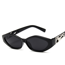 NIKSIHDAEuropean and American fashionable sunglasses ladies small frame personal