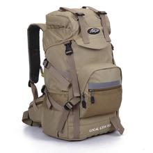 45L waterproof Ourdoor Backpack Sports Rucksack Hiking Climbing Camping Hiking Knapsack Packsack Bags for Men Women