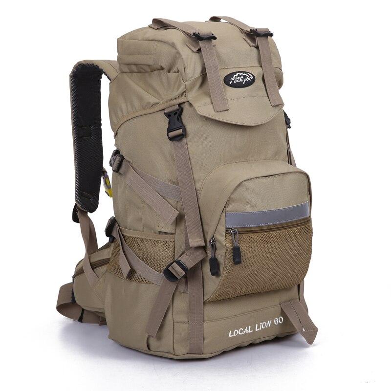 45l ourdoor impermeavel mochila esportes mochila caminhadas escalada camping caminhadas mochila packsack sacos para mulheres dos