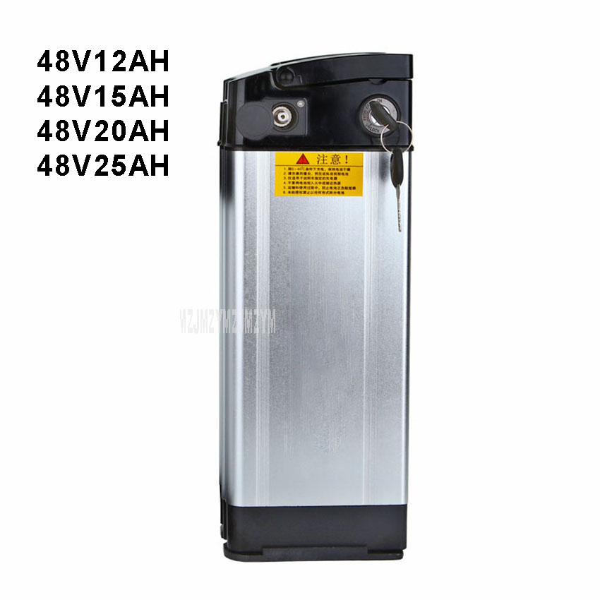 Batterie au Lithium de vélo électrique 48 V adaptée à moins de 400 W moteur Ebike batterie de vélo électrique coque en aluminium 12AH/15AH/20AH/25AH
