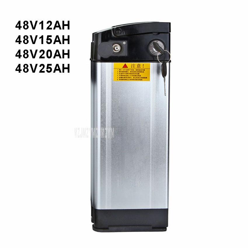 48 V Vélo Électrique Au Lithium Batterie Fit Moins Que 400 W Moteur Ebike Vélo Électrique Batterie Coque En Aluminium 12AH/ 15AH/20AH/25AH