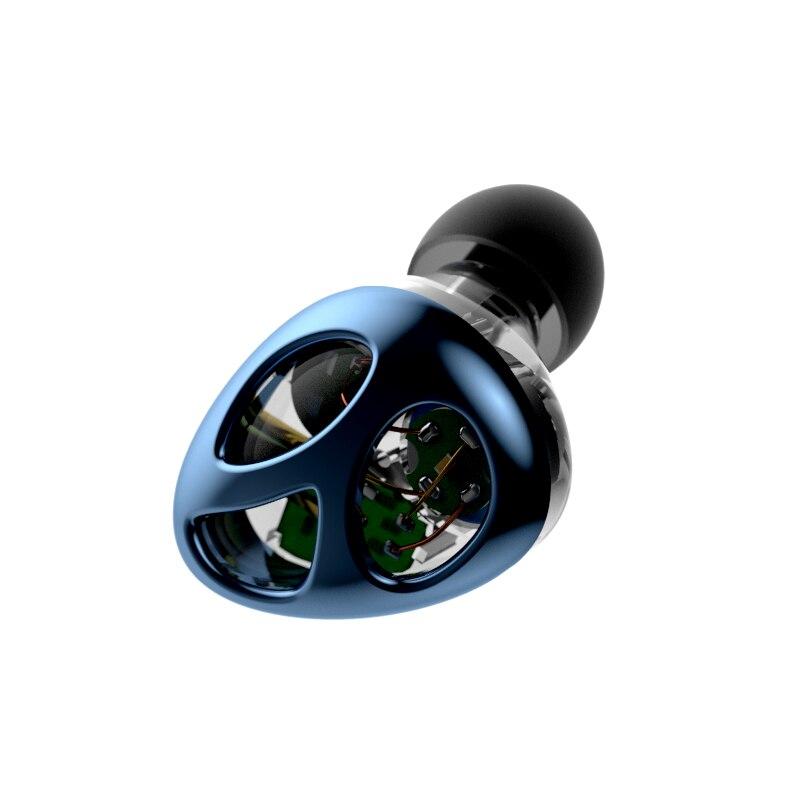 Nouveau Original N30 Double dynamique Bluetooth écouteur deux unités pilote dynamique bricolage HIFI basse Subwoofer avec câble micro + câble Audio