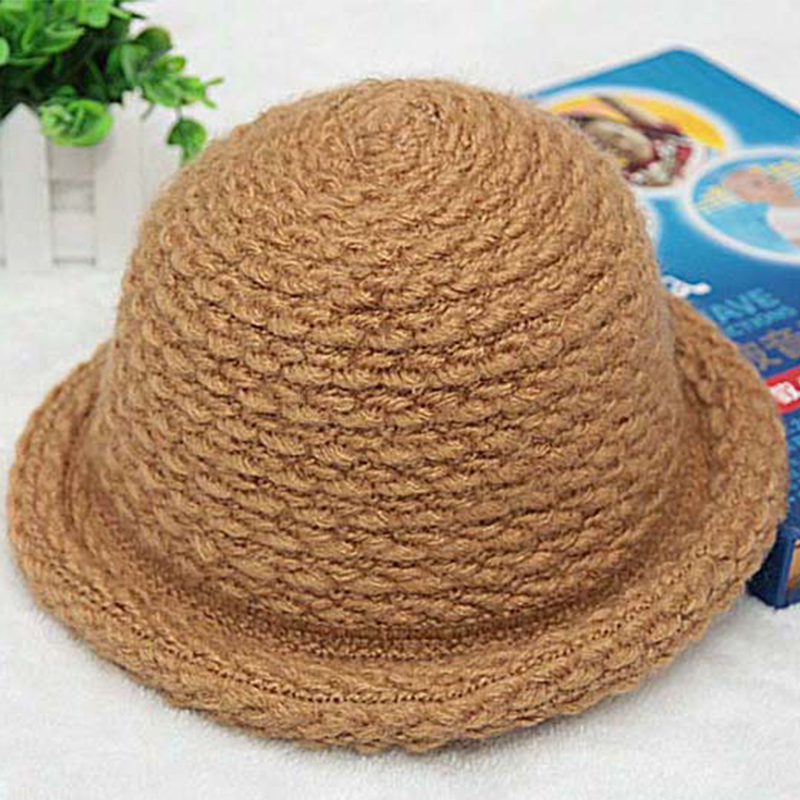 Fashion Winter Hats Baby Boy Hats For Bucket Hat Boys Cap Children Cap Kids  Solid Caps For Warm Children s Hat 2 7T-in Hats   Caps from Mother   Kids  on ... edf59108bcc2