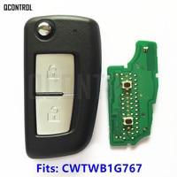 QCONTROL New Remote Key For NISSAN FCC ID CWTWB1G767 MODEL TWB1G767 Juke F15 Pulsar C13 Qashqai