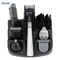 Professional Hair Trimmer 6 In 1 Hair Clipper Shaver Sets Mens rechargeable Electric Shaver Beard Trimmer Hair Cutting Machine