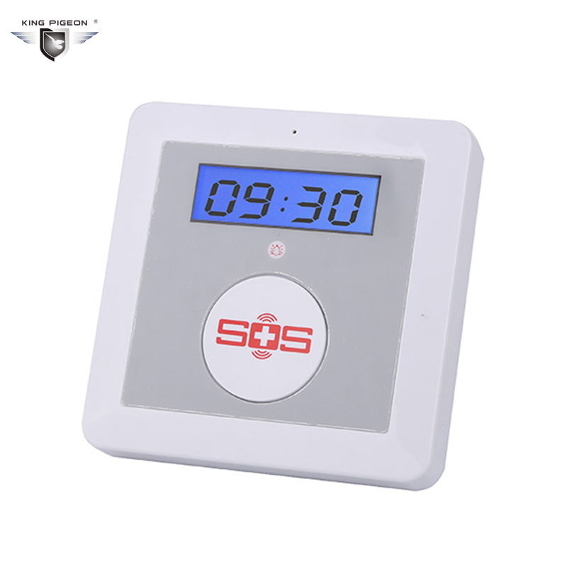 Smart Home Security Wireless Android IOS APP Remote Control GSM Alarm System SOS Panic Button Elderly Care Panel K4
