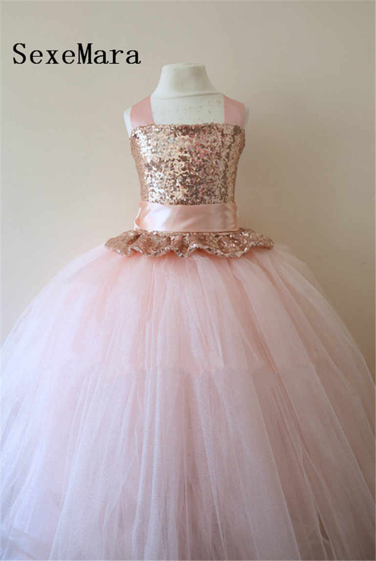 78ff2694f1249 Blush Pink Flower Girl Dresses Ebay - Aztec Stone and Reclamations