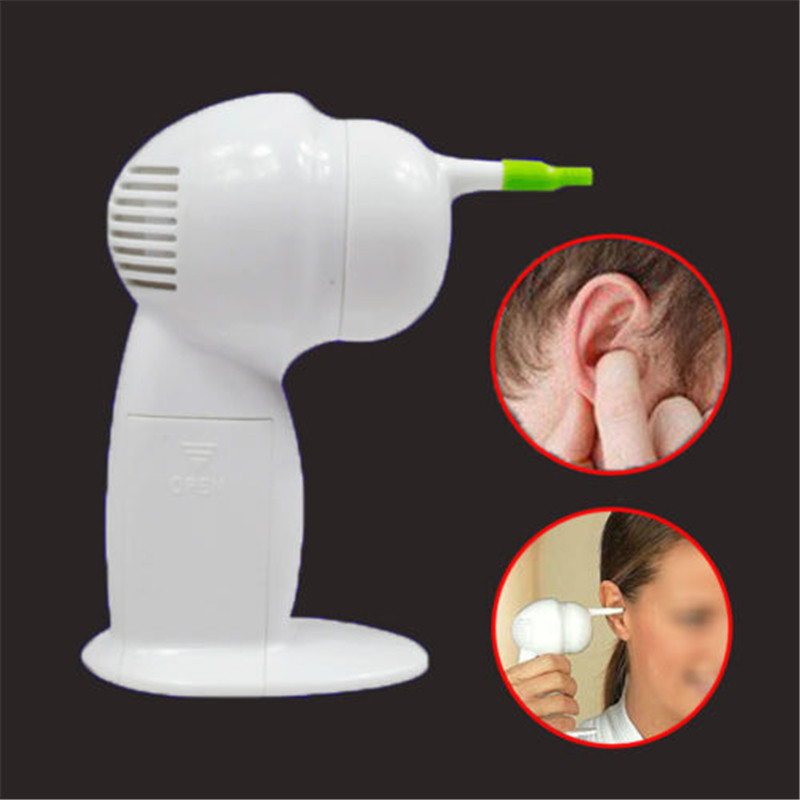 Ear Care Brush Tools Kit Painlessly Cordless Hygenic Ear Cleaner Wax Vac Safety Cleaning Supplies Personal Care Supplies