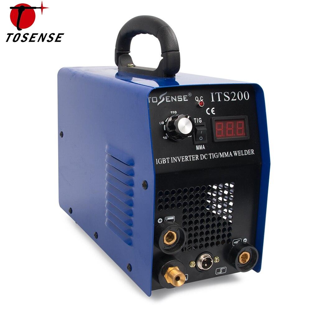 ITS200 200A 110 v/220 v 5.8KVA IP21S Onduleur Arc TIG 2 DANS 1 Électrique Machine De Soudage MMA Soudeur pour Souder de Travail
