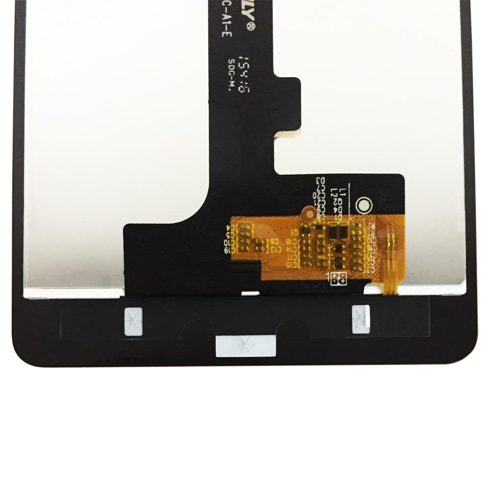 Black Color : Black MDYHMC JSKL AYSMG LCD Screen and Digitizer Full Assembly for BQ Aquaris E5 0759