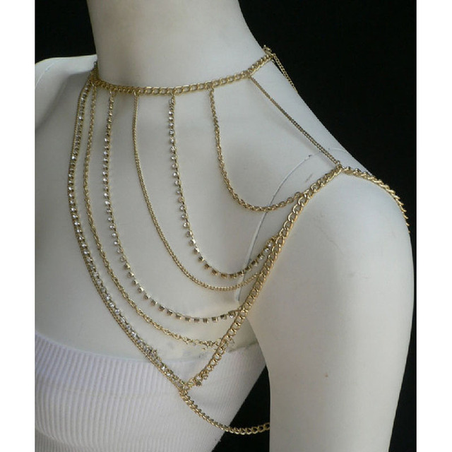 product and ivory form falconiere leather necklace metal ray harness x crystal mixed eshop of image