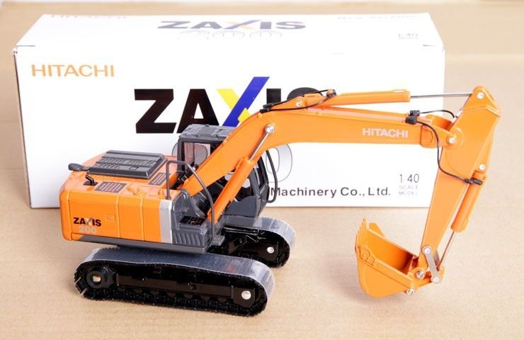 1//50 Hitachi Zaxis 225 usrk Excavateur hydraulique Metal Tracks DIECAST MODEL