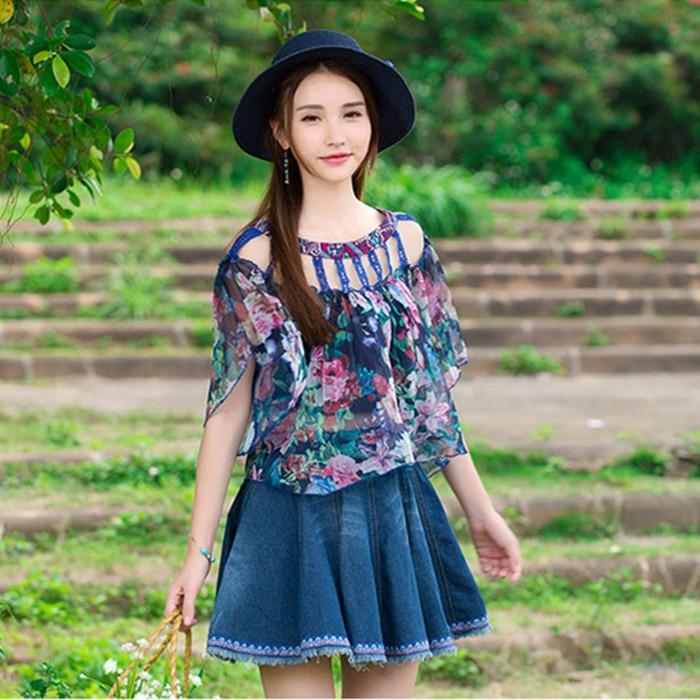 Promoción de Diseños Blusa Femenina - Compra Diseños ...