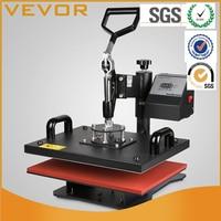 5 em 1 Digital Máquina Da Imprensa do Calor T-Shirt de Transferência de Sublimação Caneca Chapéu 15x12