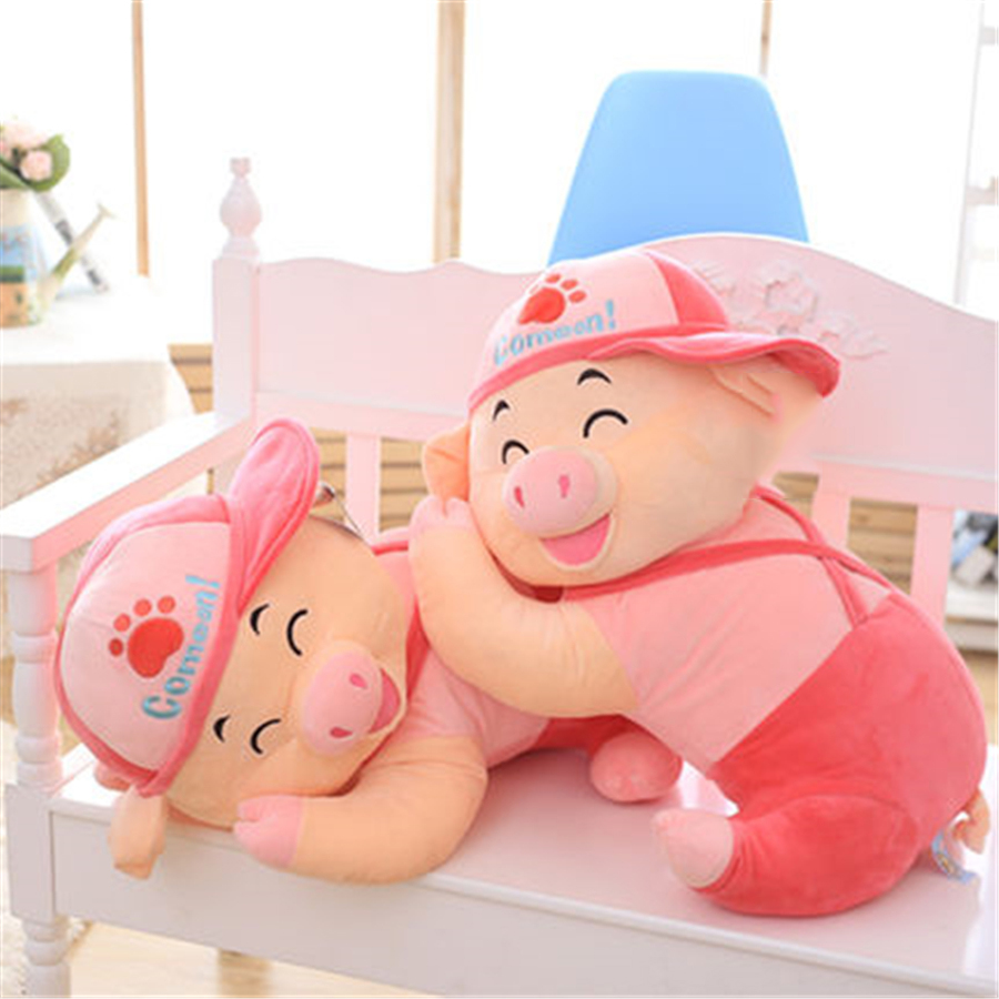 Soft Girl Plush Doll Baby Cotton Toys Plush Pillow Gudetama Cute Pig Doll Christmas Gift Kids Toys Kawaii Ty Soft Toy 60H0383 50cm cute plush toy kawaii plush rabbit baby toy baby pillow rabbit doll soft children sleeping doll best children birthday gift