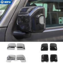 MOPAI أغطية مرايا ل جيب المصارع JT 2018 سيارة مرآة الرؤية الخلفية غطاء شل ملصق اكسسوارات ل جيب رانجلر JL 2018