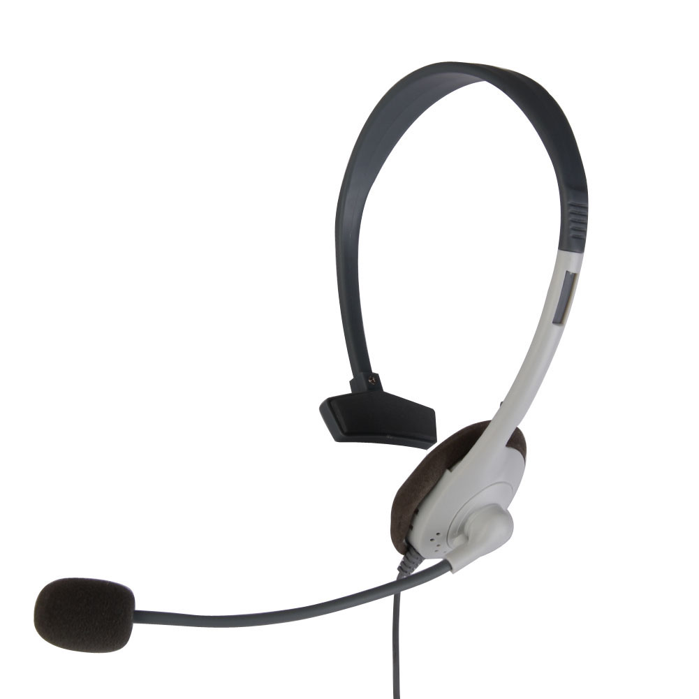 Video Games Professional Headphone Wired Game Gamer Headset Earphone Earpiece with <font><b>Microphone</b></font> Special for <font><b>MICROSOFT</b></font> XBOX360