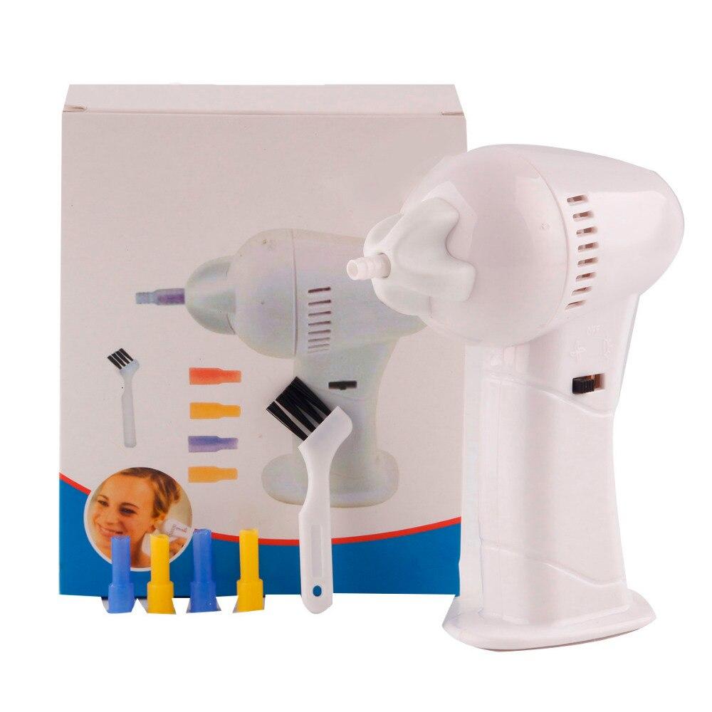 בריאות ואקום בטוח אוזן מנקה מכונת אלקטרוני ניקוי אוזני להסיר מסיר Earpick תינוק סיעוד טיפול לילדים ילדים למבוגרים