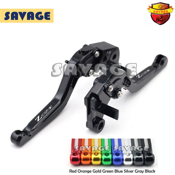 Motorcycle Extending Brake Clutch Levers extendable CNC Aluminum For KAWASAKI Z750 Z750R Z750S a3 a4 marker pen notebook marker sketchbook 32 sheets thick paper 160g color pencils notebooks