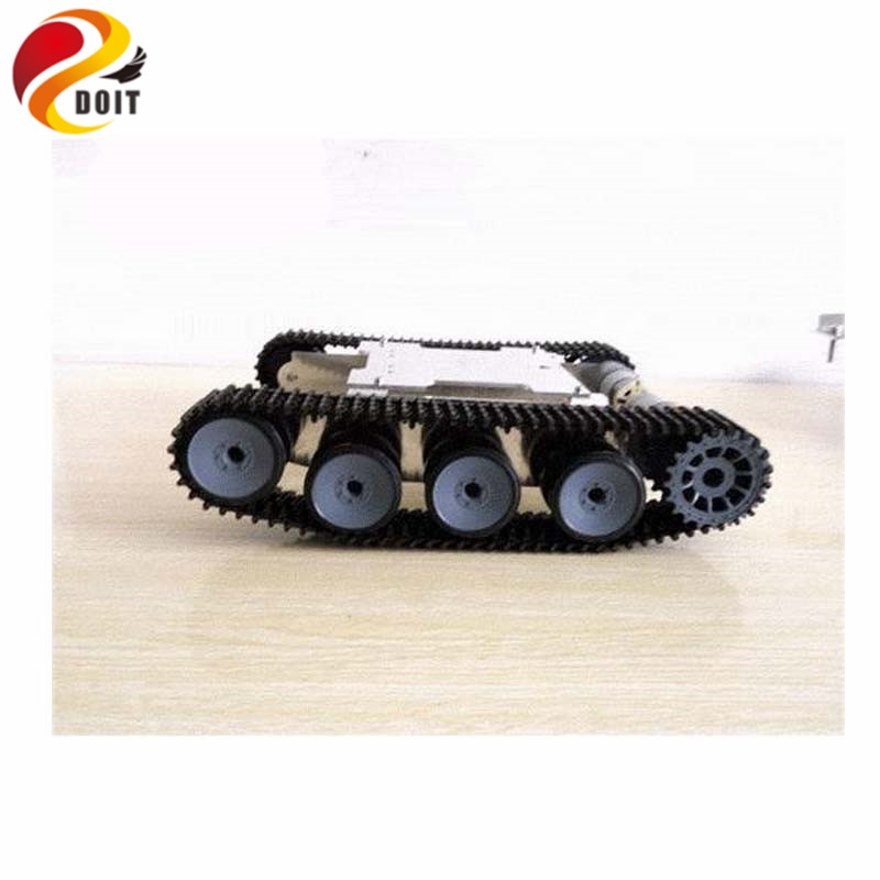 DOIT Tank Car Chassis Crawler Intelligent DIY Robot Electronic Toy ,Development Kit Tractor Toy official doit tank car chassis crawler intelligent diy robot electronic toy development kit tractor toy