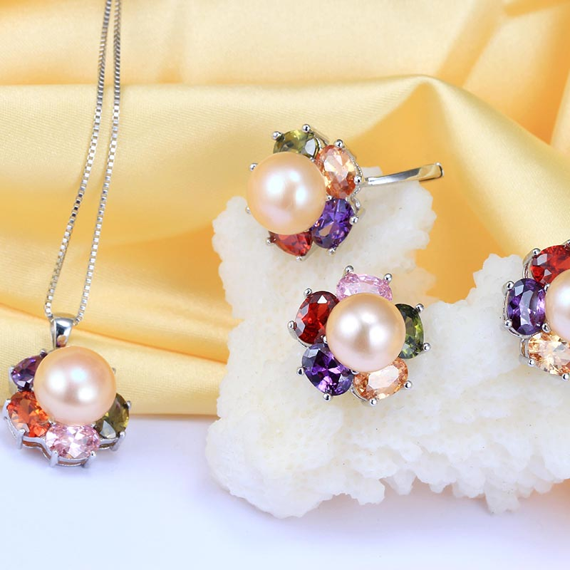 397e5a5ae HENGSHENG Top Big Pearl 10 11mm Women Jewelry Sets, Cultured Freshwater Pearl  Jewelry, Pendants&Earrings&Rings For Women-in Jewelry Sets from Jewelry ...