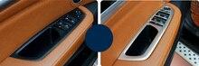 Только для левый руль автомобиля! Для BMW X6 E71 2009-2014 Интимные аксессуары Дверная ручка держатель Окно лифт переключатель Крышка отделка 4 шт.