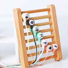 Cute Mini Earphone Wired In-Ear Earbud Micro Earpiece Compatible with Iphone Android Smartphones for Girl Boy Gift