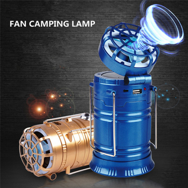 Oobest Multifunction Rechargeable LED C&ing Powered Fan Outdoor Portable Tent Light charge Flashlight Outdoor Light & Oobest Multifunction Rechargeable LED Camping Powered Fan Outdoor ...