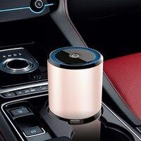 1Pcs Car Air Purifier Auto Car Air Fresh Negative Ion Air Cleaner Dual USB Anion Air Freshener Oxygen Bar Portable Ionizer