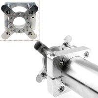 100mm placa de pressão automática para cnc roteador diy cnc braçadeira pressão pé para 3.0kw eixo titular
