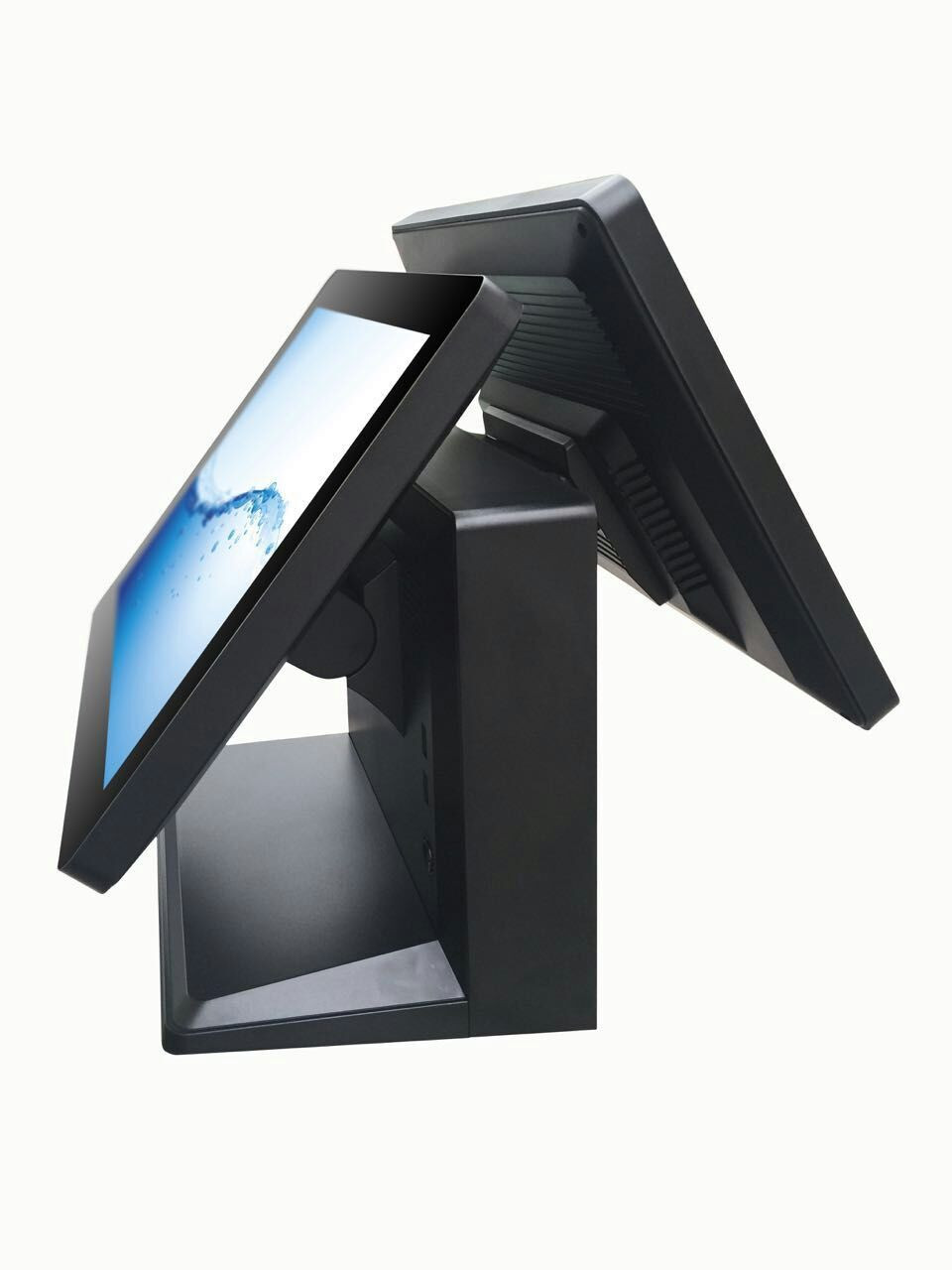 New Arrival 15 Inch Touch Android Pos System With Dual Screen Cash Register 3G