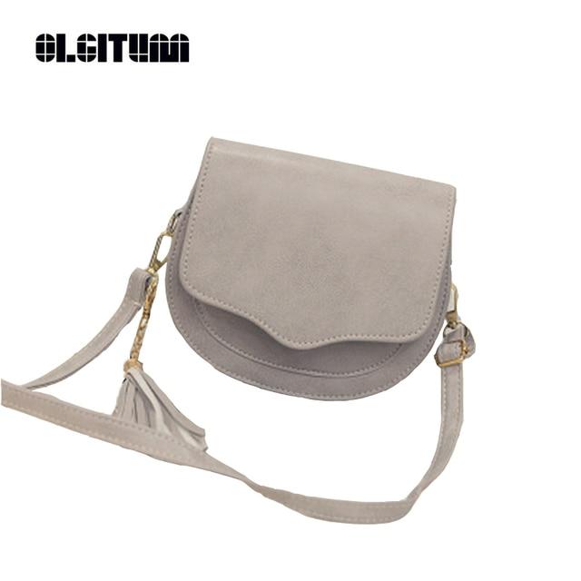800727b3137 OLGITUM Cute Sling Bag shoulder bag Women Tassel Bags Small Crossbody Bags  Handbags Famous Designer Purses And Handbags HB090