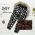 Alta qualidade grossas de inverno quente calças crianças calças crianças calças do bebê meninos calças meninas para 2-5A frete grátis