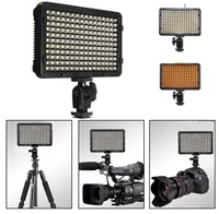 Portable 176 LED Video Digital Photography Lighting Flash Fill Light Lamp With 2 Filter For Canon