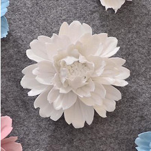 Wall sticker peony hanging, creative home office restaurant wall decoration, beautiful flowers