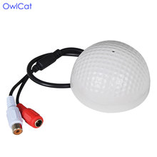 OwlCat CCTV Video Surveillance Security Camera IP Cameras Sound Monitor Audio Pickup Microphone(China)