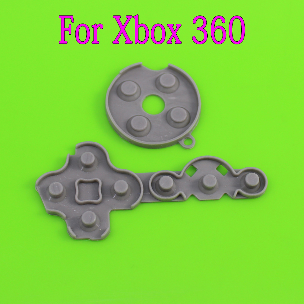Controller Conductive Rubber Contact Pad Button D-Pad for Microsoft for Xbox 360 wireless Controller Replacement repair Parts
