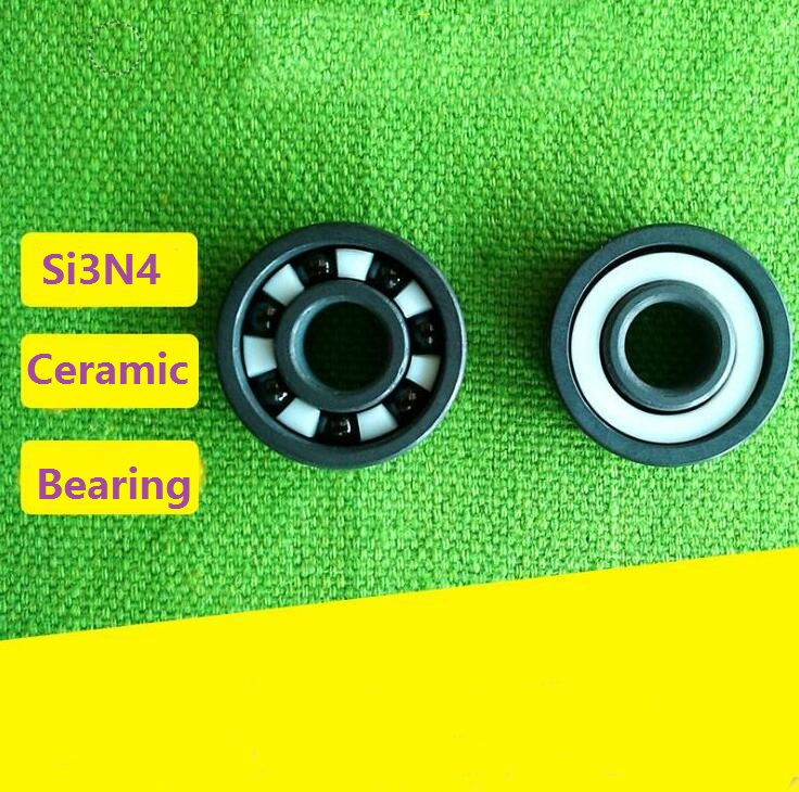 4pcs/10pcs 603 604 605 606 607 608 609 SI3N4 full Ceramic bearings silicon ceramic deep groove ball bearing цена