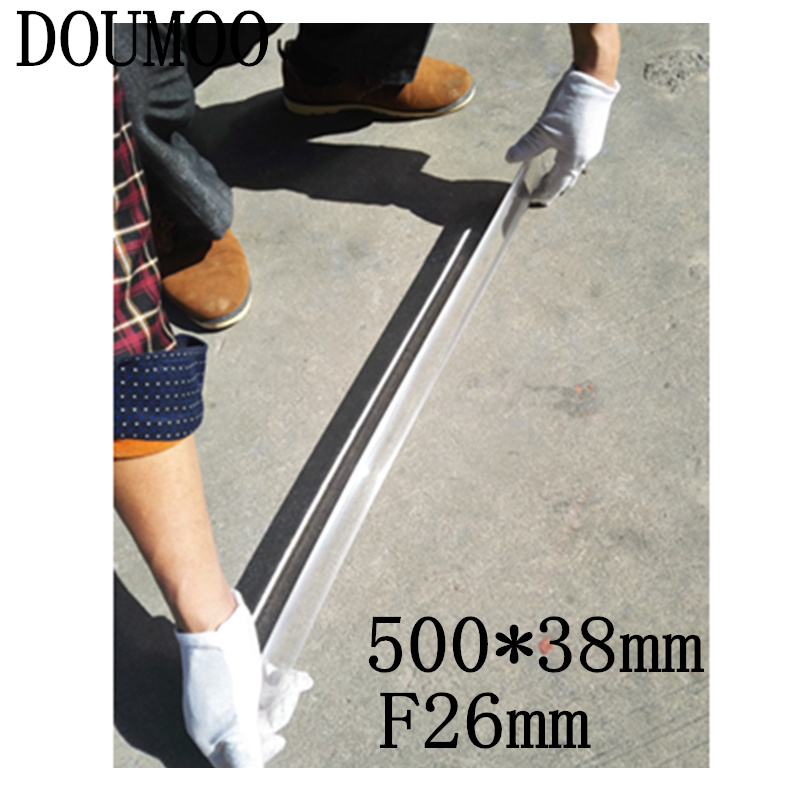 long Linear fresnel lens 500 x 38 mm Optical PMMA Plastic focal length 26 mm   Plane Magnifier Solar Energy Concentrator 1pc 400mm dia large optical pmma plastic big solar fresnel lens focal length 220mm solar concentrator large magnifying glass