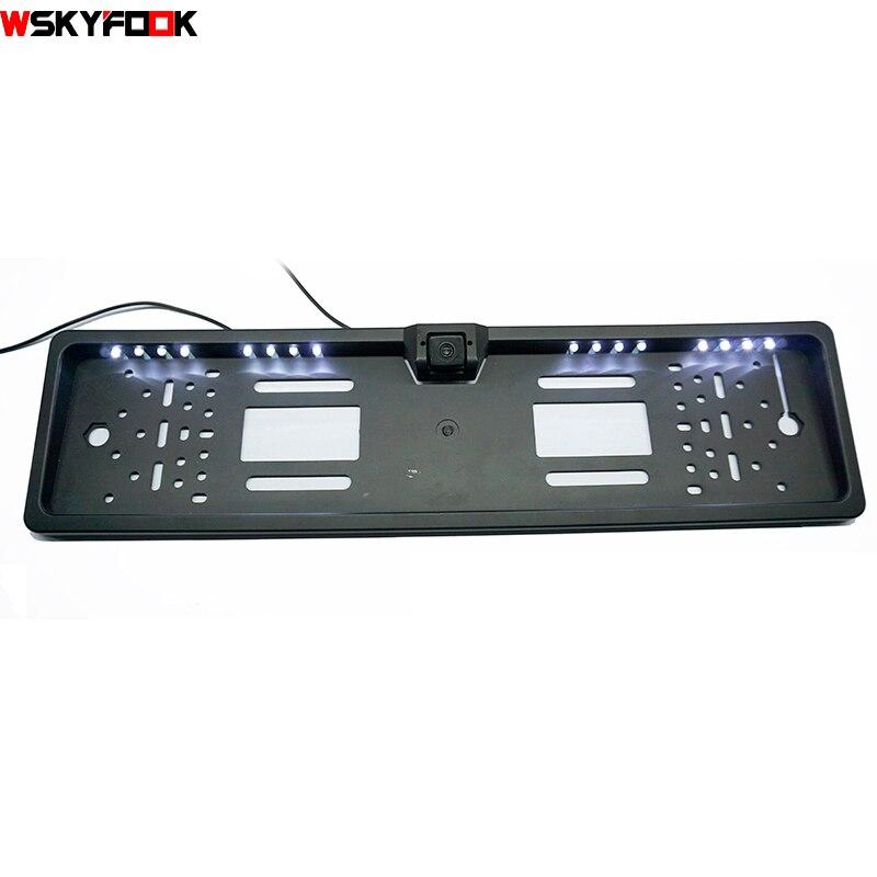 Para Sony CCD 16 LEDs de visión nocturna Matrícula europea Cámara - Electrónica del Automóvil