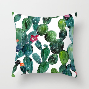 Tropical Catus Cushion Covers