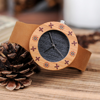 BOBO BIRD Luxury Brand Watch Wood Watch Ladies Watches Bamboo Wood Wristwatch Women Watches Top